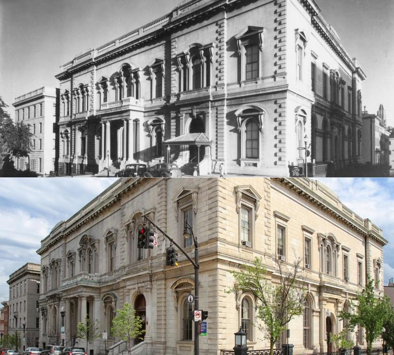George Peabody Library: Then and Now