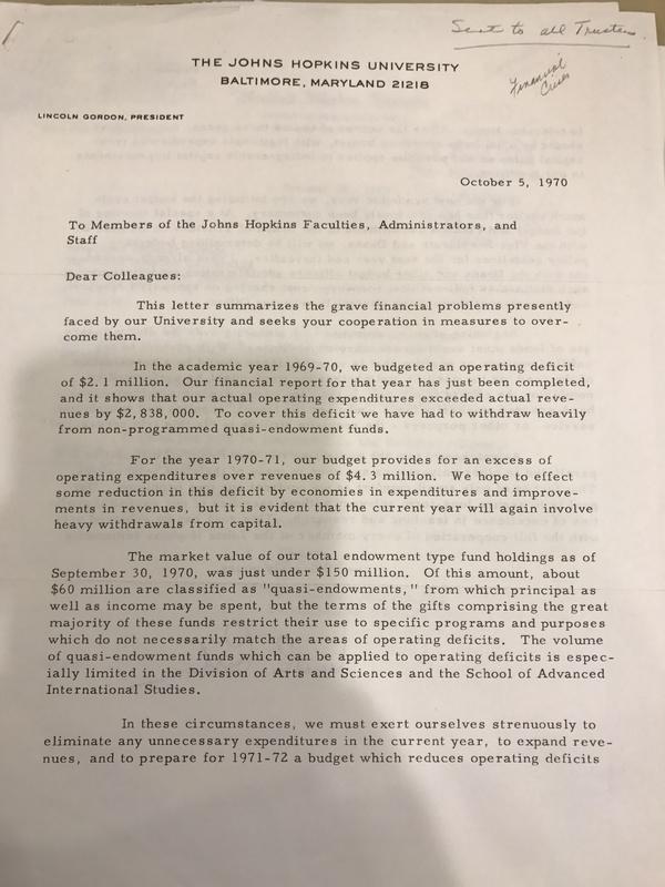 Gordon Letter opening