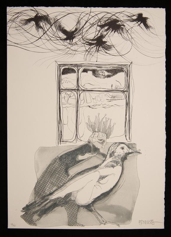 Illustration for Edgar Allan Poe's La Isla del Hada [The Island of the Fay]