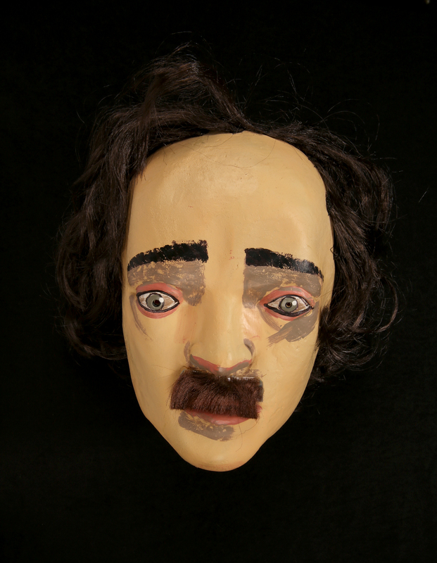 Latex Mask of Edgar Allan Poe
