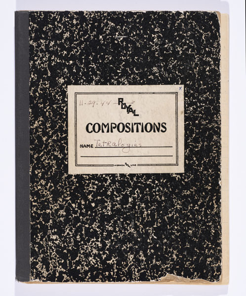 Cover of Olive Berger's Tetralogy of Fallot logbook