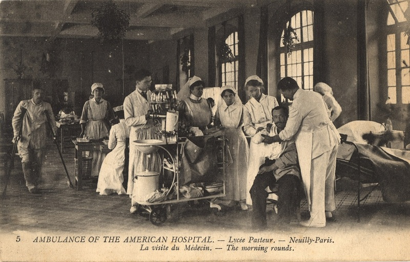 Ambulance of the American Hospital