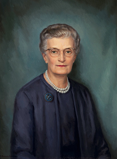 Portrait of Olive Louise Berger