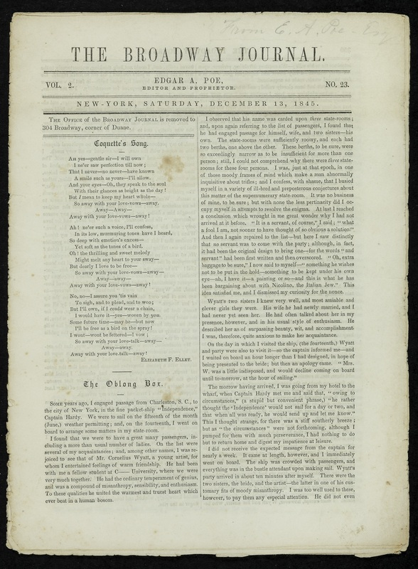 The Broadway Journal