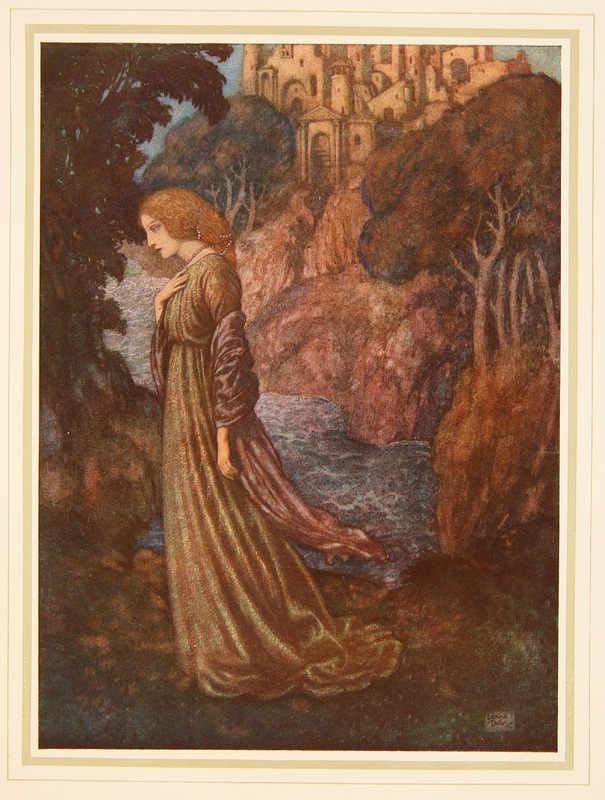 "Illustration of ""Annabel Lee"""