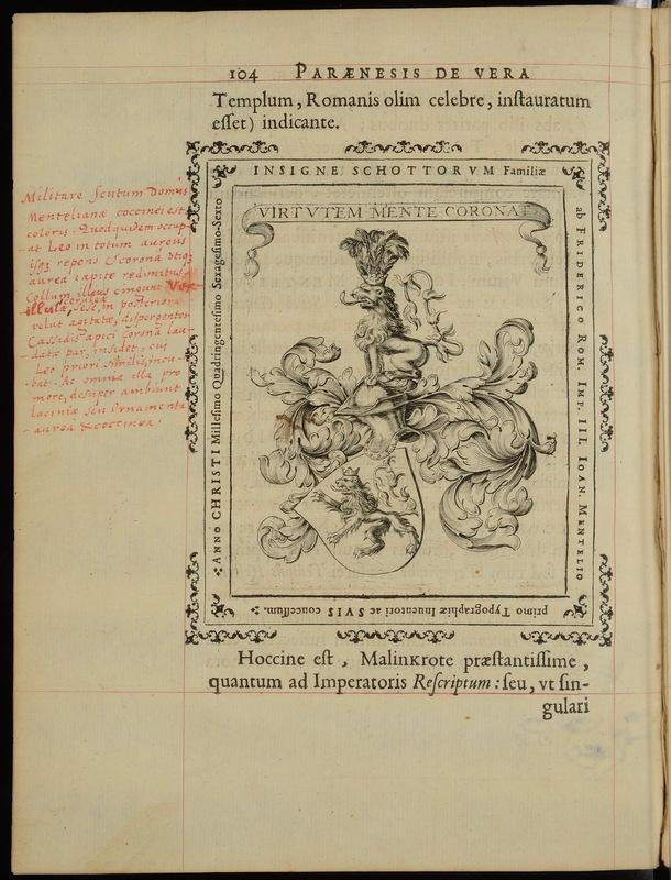 De vera typographiae origine paraenesis; ad sapientissimum virum D. Bernardum a Malinkrot, monasteriensem decanum