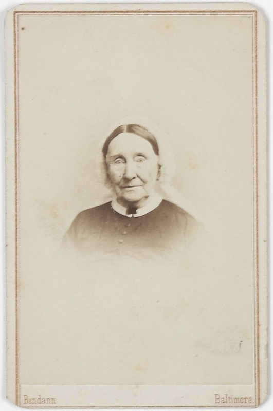 Photograph of Maria Clemm