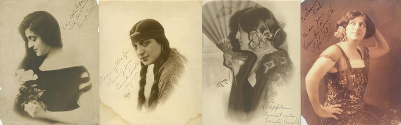 Carmela Ponselle Vaudeville Collage