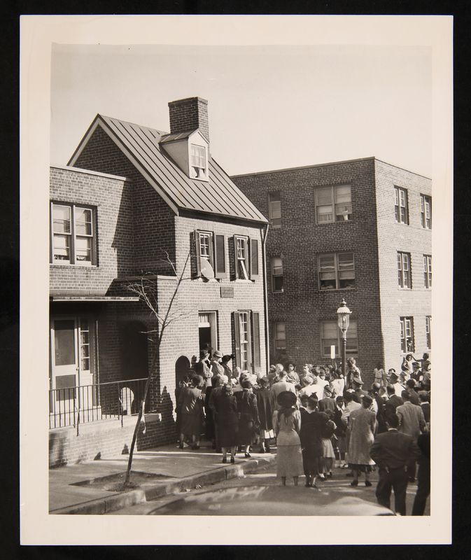 Photograph of Poe House in Baltimore