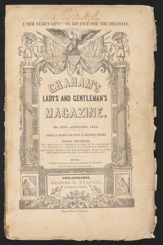 Cover of Graham's Magazine