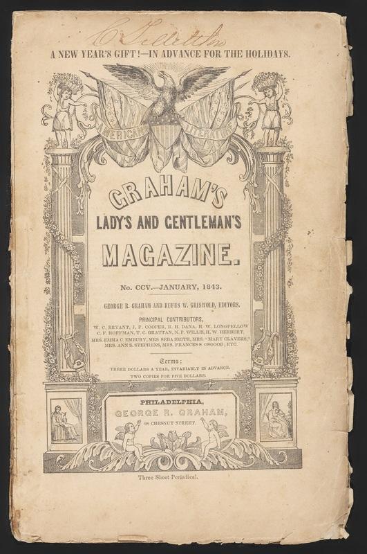 Cover of Graham's Magazine