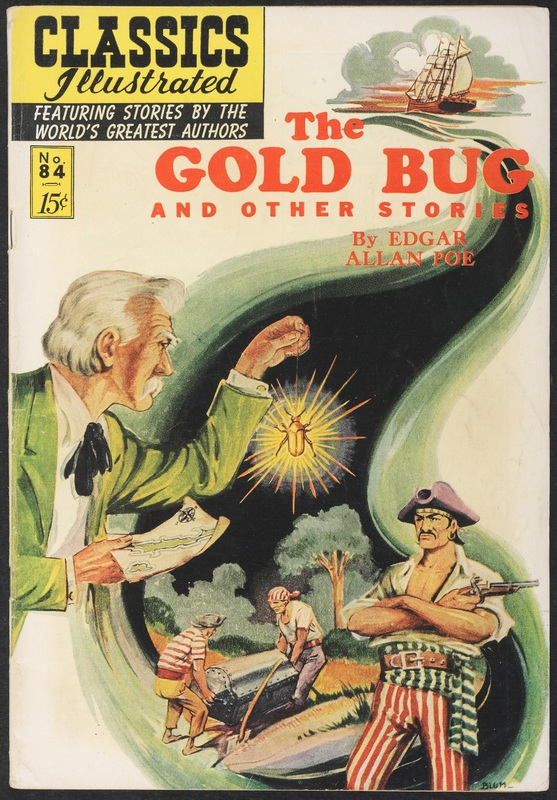 Cover of The Gold Bug and Other Stories by Edgar Allan Poe