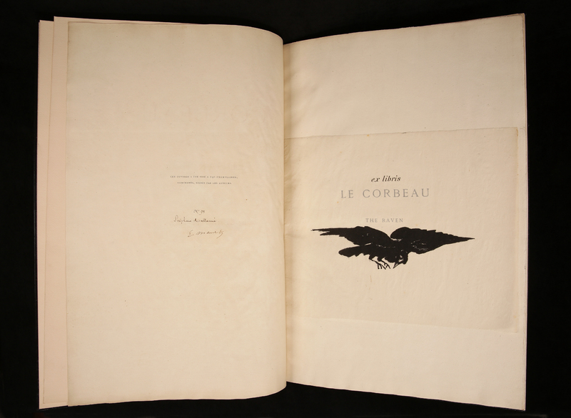 Frontispiece for Le Corbeau [The Raven]