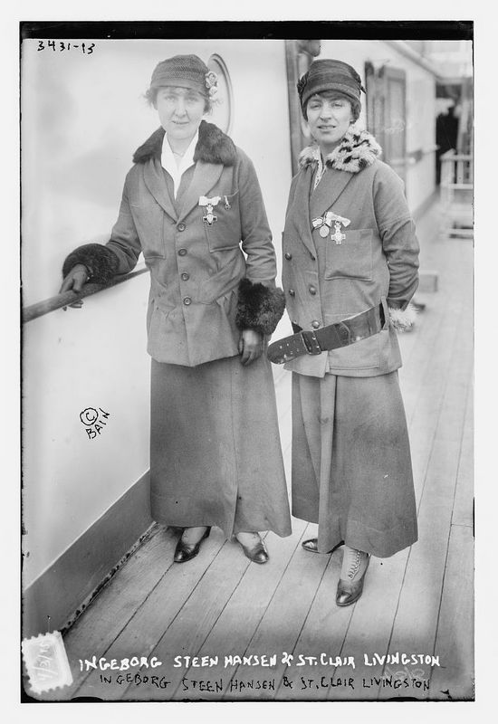 Ingeborg Steen Hansen & St. Clair Livingston