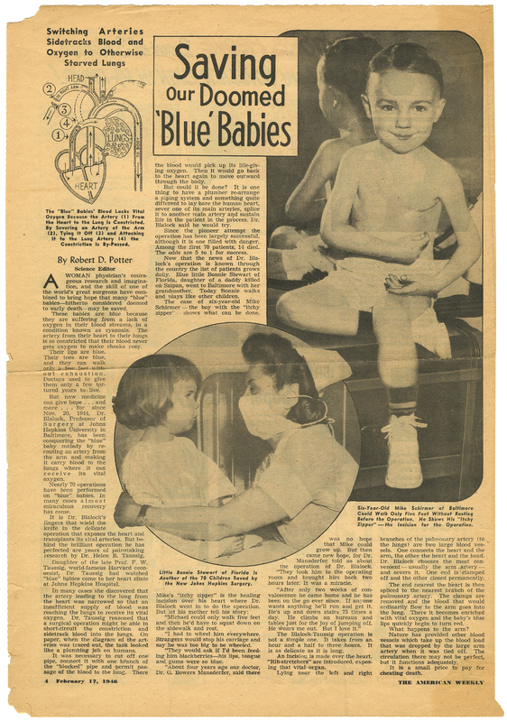 Saving our doomed blue babies