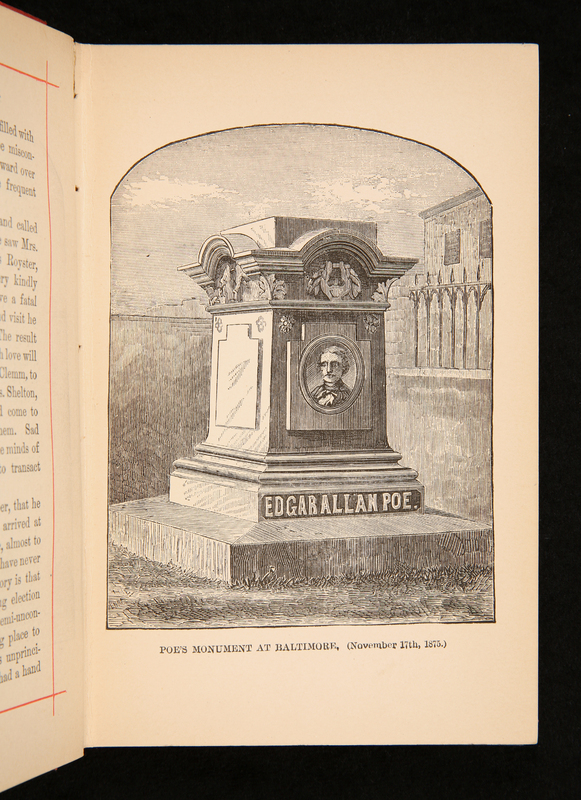 Poe monument illustration