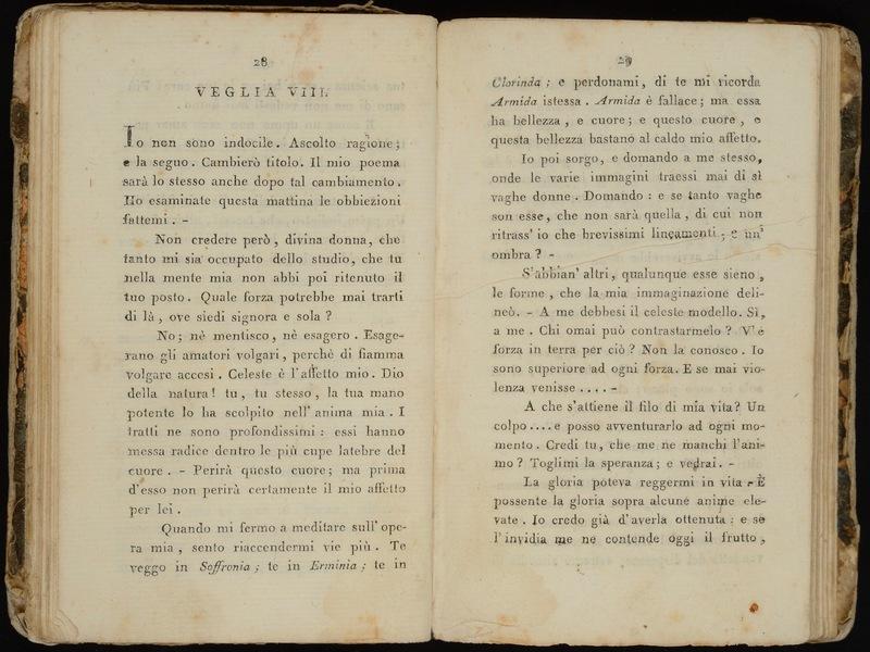 Veglie di Tasso, prima edizione Italiane