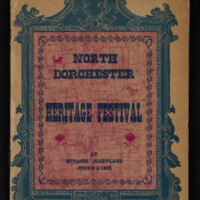 Cover of North Dorchester Heritage Festival