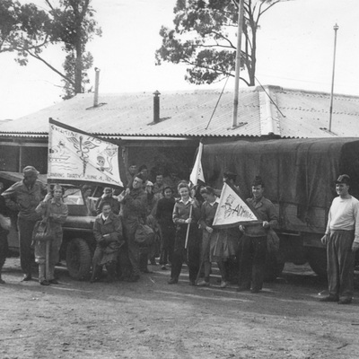 Landing Party, 118th General Hospital