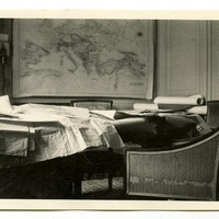 Isaiah Bowman's hotel room in the Crillon de Paris hotel