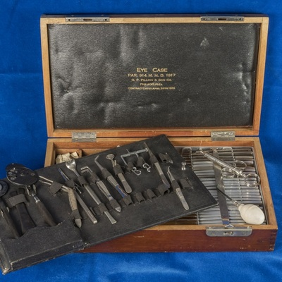 Eye Case, Instruments and Supplies