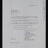 Letter to John Barth