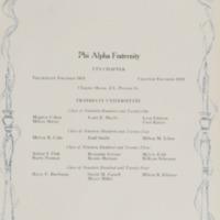Phi Alpha in 1921