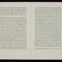Page from The Literature of Exhaustion and The Literature of Replenishment, with John Barth's notes