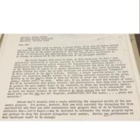Alumni Letter