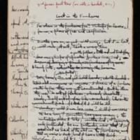 Notebook, 1960-1967