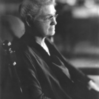 Mary Adelaide Nutting, second superintendent of nurses at Johns Hopkins, c. 1930s