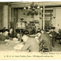 Y.M.C.A. Hotel Pavillon Paris - Writing and reading room