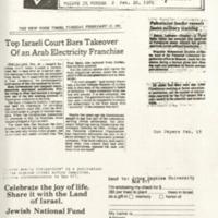 Israel Weekly Perspective