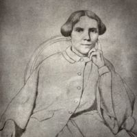 Sketch of Elizabeth Blackwell (Photomechanical print by Swaine. Wellcome Collection. CC BY)