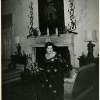 Photograph of Rosa Ponselle at Villa Pace, 1975