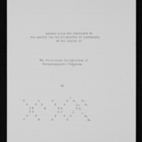 The Statistical Specification of Bartholinguistic Ideograms