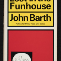 Cover of Lost in the Funhouse: Fiction for Print, Tape, Live Voice