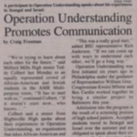 Operation Understanding