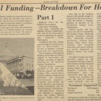 News-Letter October 1970