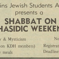 "<a href=""http://exhibits.library.jhu.edu/exhibits/show/jews-at-hopkins/glossary"" target=""_blank"">Shabbat on Chasidic Weekend</a>"