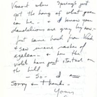 Letter to John Barth (second page)