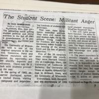 The Student Scene