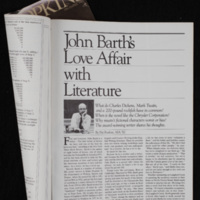 "First page of ""John Barth: Teller of Tales"""
