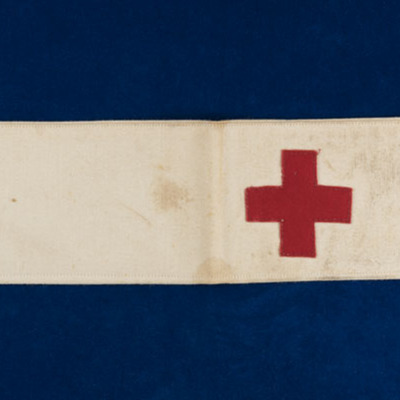 Vashti Bartlett's American Red Cross Armband