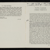 Page from Ficciones with John Barth's notes