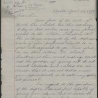 Daniel Coit Gilman letter to W.E.B. Du Bois