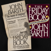 Cover of The Friday Book, with New York Times advertisement