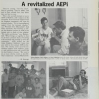 Alpha Epsilon Pi revitalized