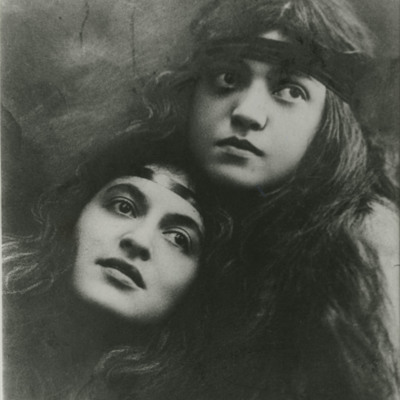 Rosa and Carmela Ponselle in their vaudeville days