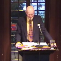 John Barth at the Kelly Writers House, University of Pennsylvania. This recording is not a part of The John Barth Collection.